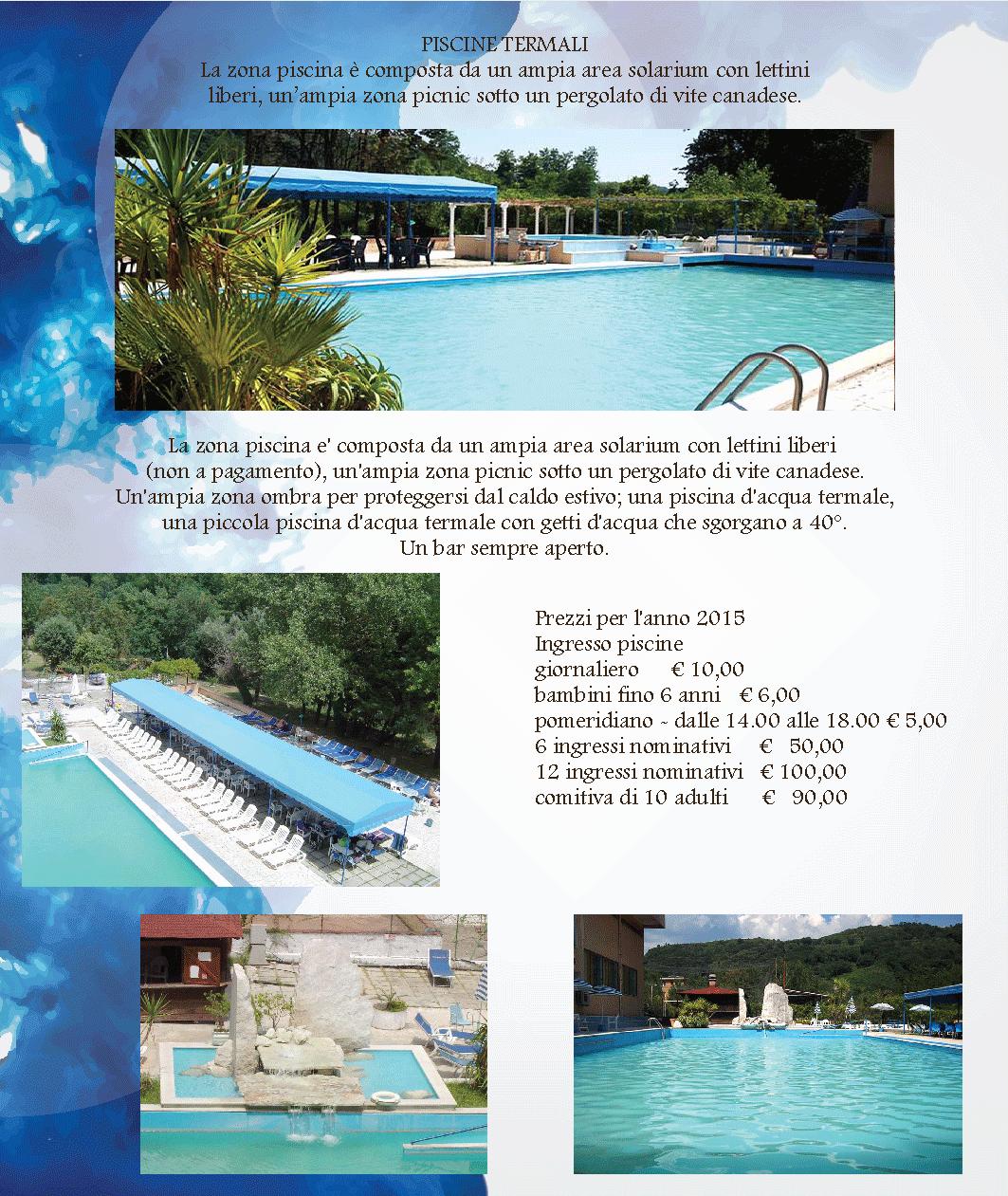 Piscine termali - Suio terme piscine ...